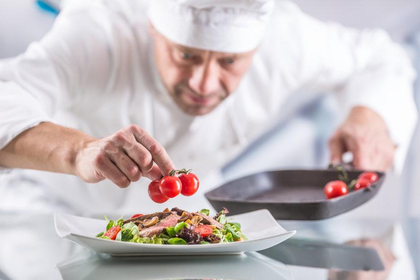 Koch mit Liebe zum Job
